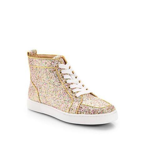 1485-Christian-Louboutin-Women-s-Glitter-High-Top-Sneakers-1